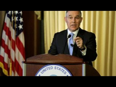 EPA Administrator Scott Pruitt: We can develop our natural resources, and protect environment