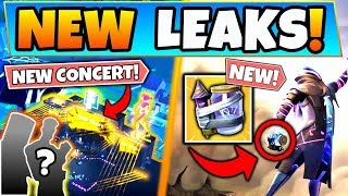 *NEW* NEW LEAKED CONCERT EVENT + JUNK RIFT LEAKS! (Fortnite Update Season 10)