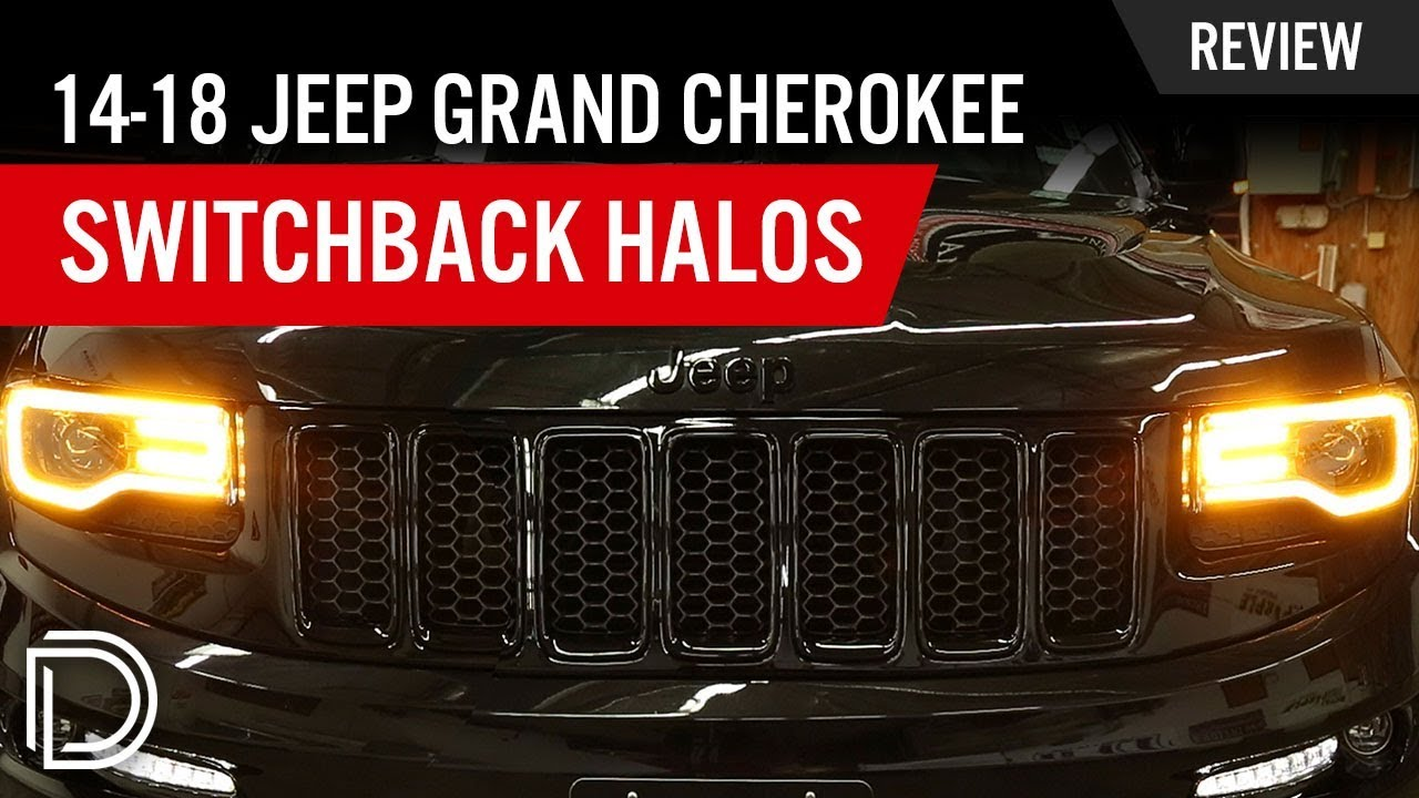 2014-2017 jeep grand cherokee switchback drl led halosdiode