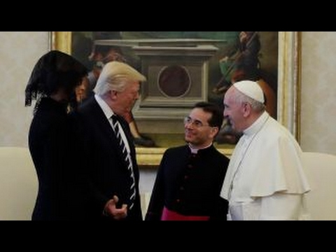Inside President Trump's holy visit to the Vatican