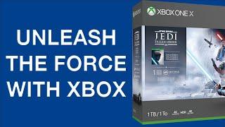 XBOX One X Jedi Fallen Order Edition Bundle Full Unboxing
