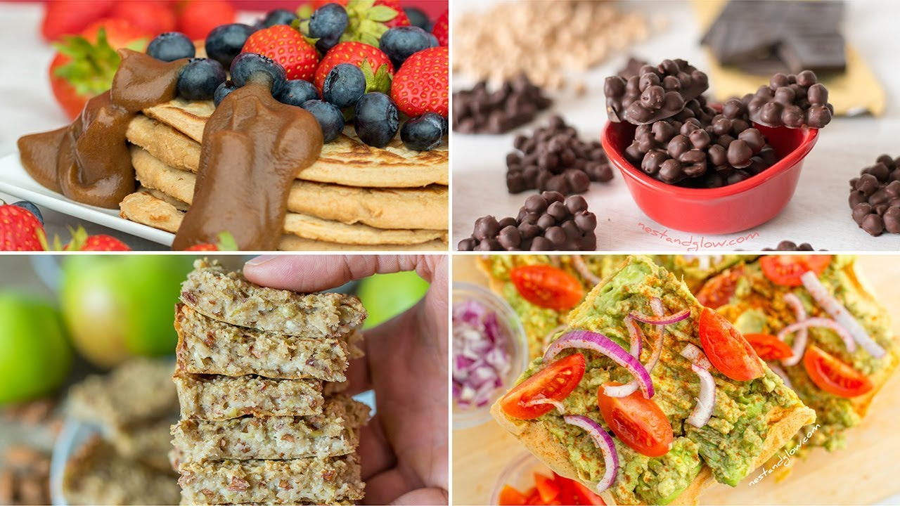 Easy Plant Based Recipes [2018 collection] - YouTube