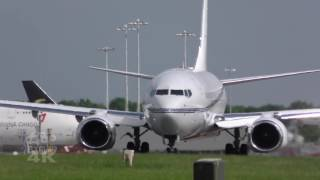 Large Executive Jets at London Stansted Airport Planespotting Aeroplanes takeoff & landing
