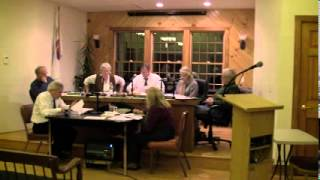 HOPKINTON TOWN COUNCIL MEETING -- January 21, 2014