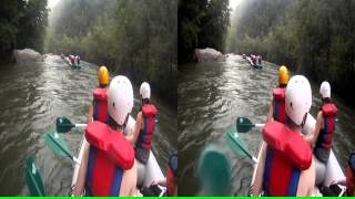"3D Ocoee River Whitewater Rafting 22 ""360s By Humpty Dumpty Rock"""