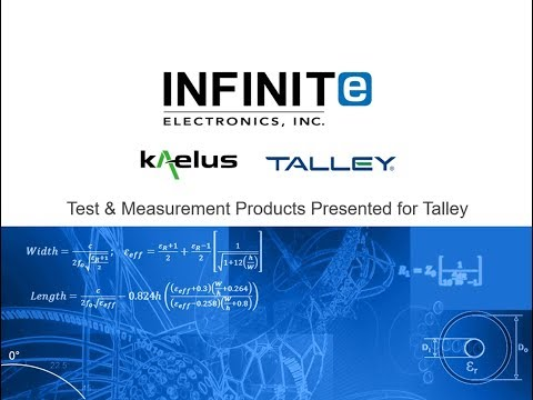 Webinar: Kaelus | Test and Measurement Products