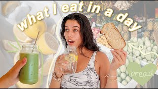 what I eat in a day *teenager that doesn't like to cook yet*