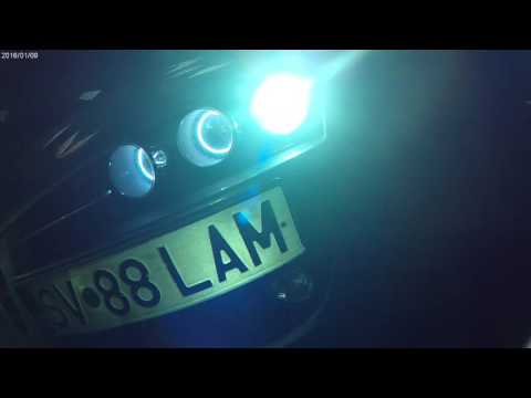 alfa 159  custom made headlightts