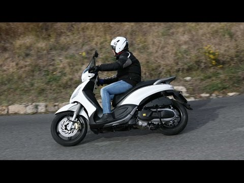 2015 piaggio beverly 350ie abs sport touring - youtube