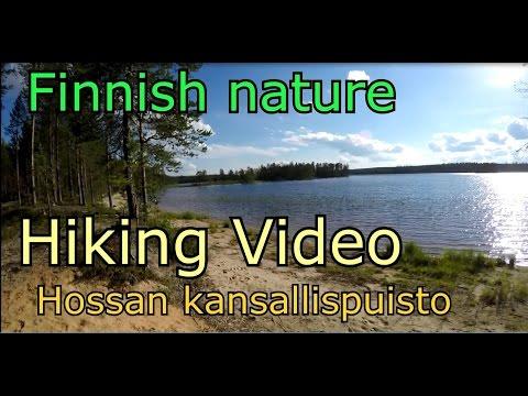 Hossan Kansallispuisto- Hossa National Park -Hiking video Vaellusvideo