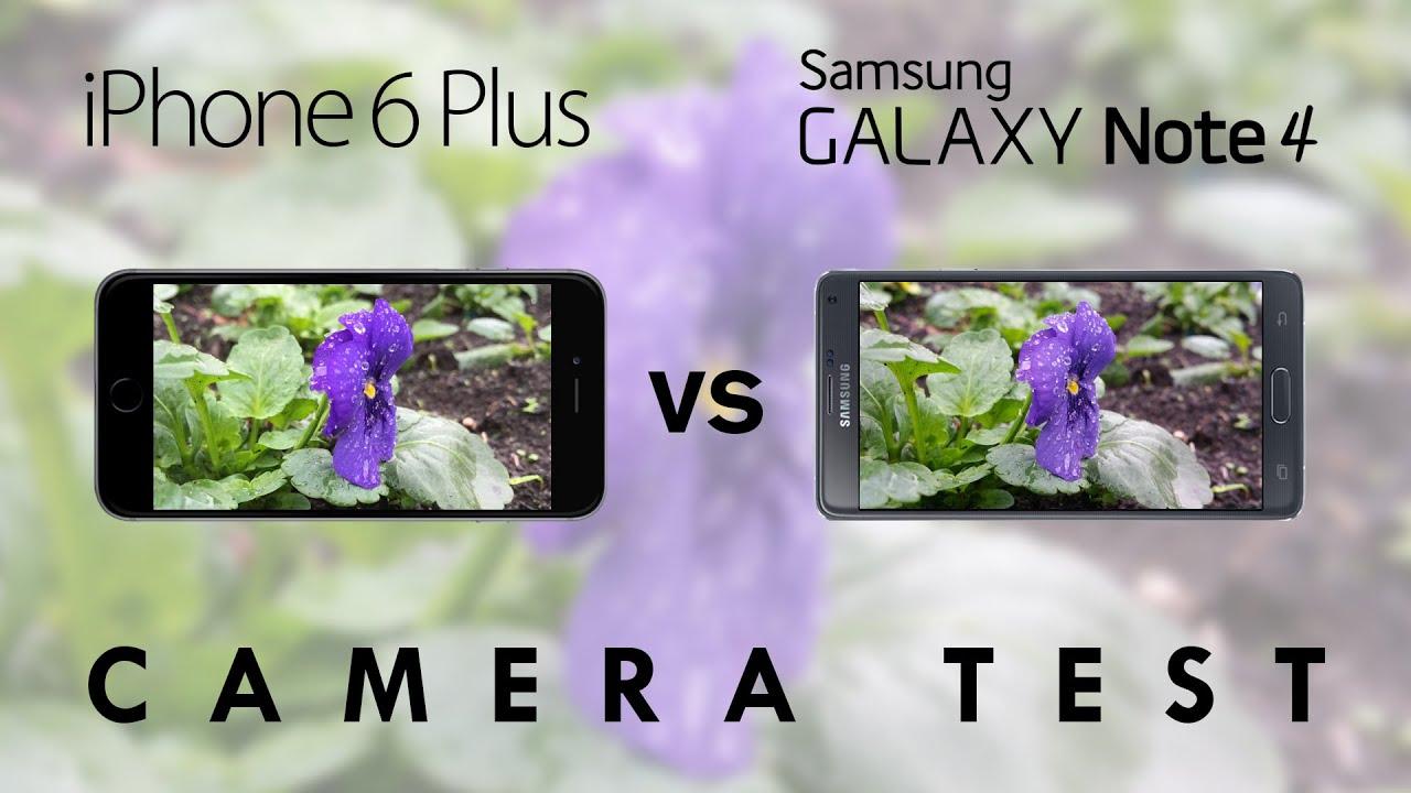 Iphone Note Plus Vs Galaxy Samsung 6 4