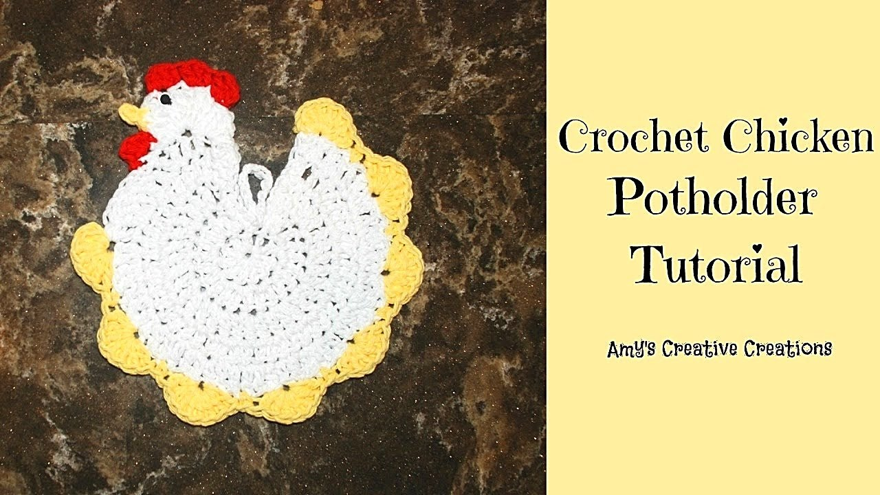 Crochet Chicken Pattern Magnificent Ideas