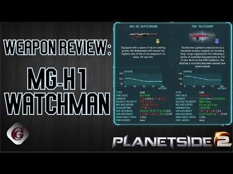 PlanetSide 2 LMGs | Iridar's Gaming Blog