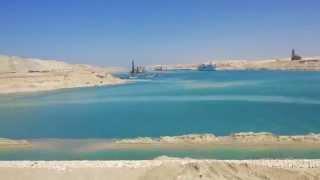 الملاحة فى قناة السويس الجديدة بالقطاع الاوسط  مارس 2015