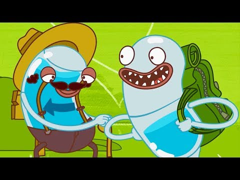 Hydro and Fluid - Backpack Travelling | Cartoons for Children | Kids TV Shows | WildBrain Cartoons