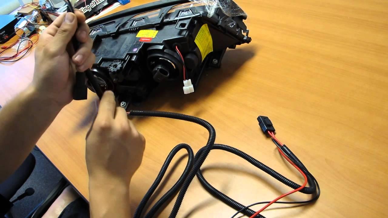 medium resolution of e46 manufacturer wiring harness youtube 2013 nissan altima headlight wiring harness e46 headlight wiring harness