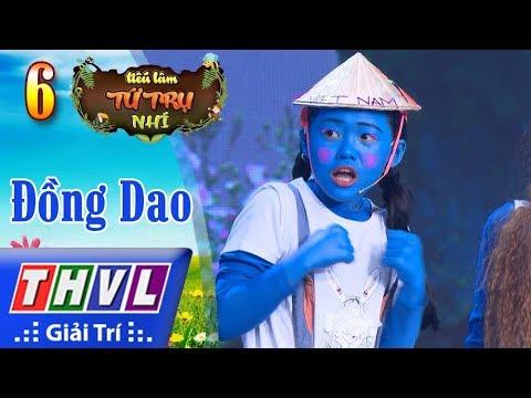 THVL | Tiếu lâm tứ trụ nhí Mùa 2 – Tập 6[6]: Làng Xì Trum - Mỹ Dung