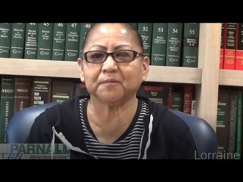 Video Testimonial - Lorraine | Parnall Law Firm