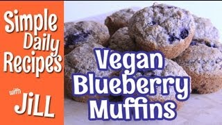 Healthy Whole Wheat Blueberry Muffins - Simple Daily Recipes