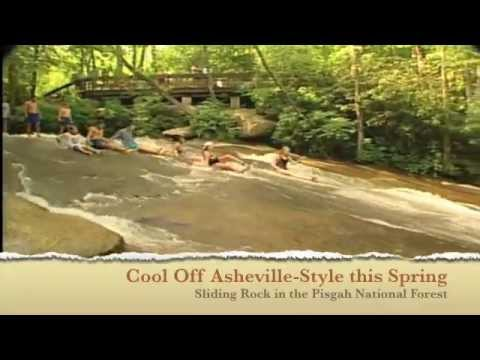 Sliding Rock Near Asheville, NC