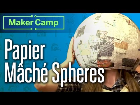 How To Make Papier Mache Spheres