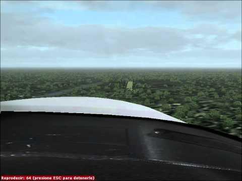 Landing at Vigia del fuerte Airport Piper PA-34 Seneca HK-3059-G
