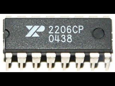 Circuito Xr2206 : Circuitos integrados generadores de ondas abc proyectos electrónicos