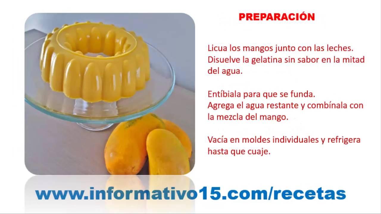 como preparar gelatina de agua