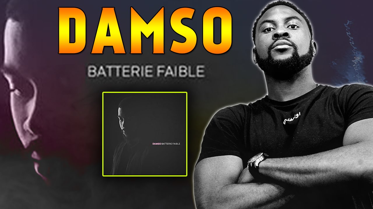 Turbo DAMSO : MON AVIS ET PREMIERE ECOUTE DE L'ALBUM BATTERIE FAIBLE  NT33