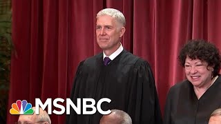 Why Neil Gorsuch Could Be Supreme Court Swing Vote In LGBT Job Rights Case | Andrea Mitchell | MSNBC