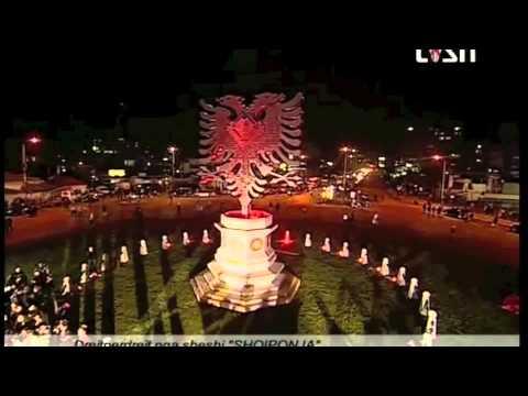 Inagurimi i Shqiponjës më 28.11.2012 Tiranë