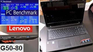Lenovo G50-80 core i3: Unboxing and Speed Test