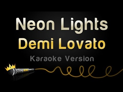 Demi Lovato - Neon Lights (Karaoke Version)