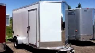 Haul More-Weighs Less! New 2016 Stealth 6x12 Cargo Trailer for sale