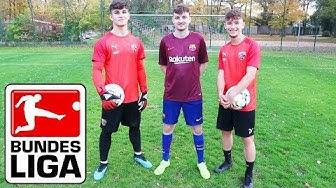 FUSSBALL CHALLENGE VS. U19 Bundesliga Spieler | Matti & ViscaBarca