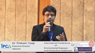 Dr  Prakash Tyagi on preventing and controlling silicosis