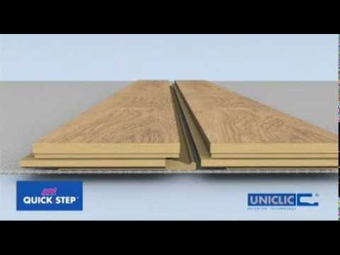 Comment poser un sol stratifi quick step avec le syst me r volutionnaire uni - Sol stratifie quick step ...