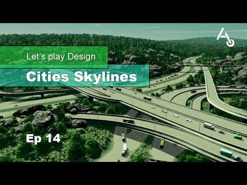 FR - Let's play Design Cities Skylines - Saison 2 Ep 14: L'échangeur de Durin sud