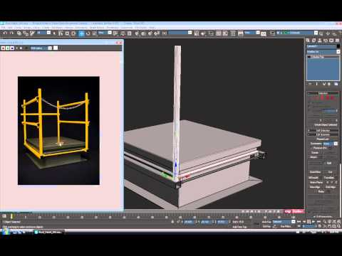 Model a Detailed Roof Hatch in 3ds Max - 2