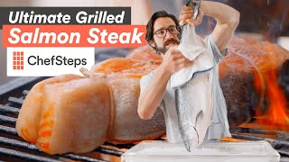 Fish on the Fire: The Ultimate Grilled Salmon Steak