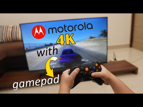 Motorola 4K Smart Android TV, HDR 10, Dolby Vision Support, Comes With Gamepad, Price Rs. 29,999