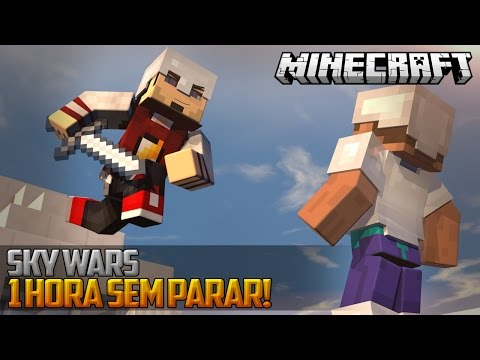 Minecraft: 1HORA PANCADARIA! - SKY WARS ‹ AMENIC ›