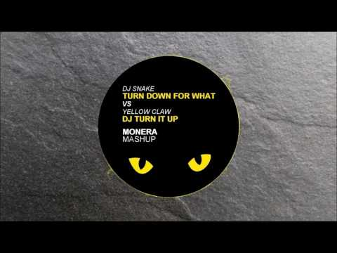 Dj Snake Turn down for what vs Yellow Claw Dj turn it up (Monera Mashup)