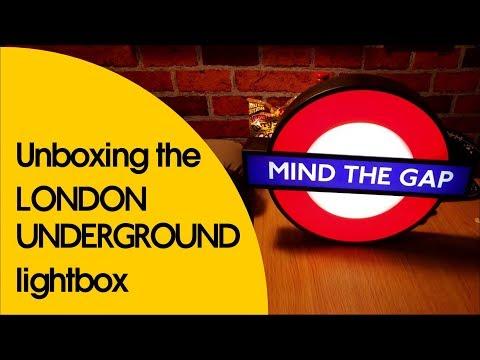 Unboxing The London Underground Lightbox