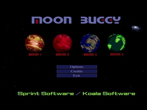 Obscure Games - Moon Buggy (Moon 1-6)