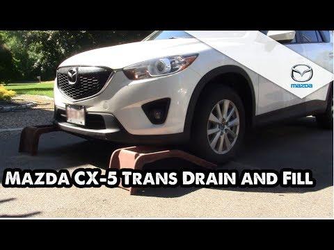 Mazda CX 5 Tranny Drain And Fill How To