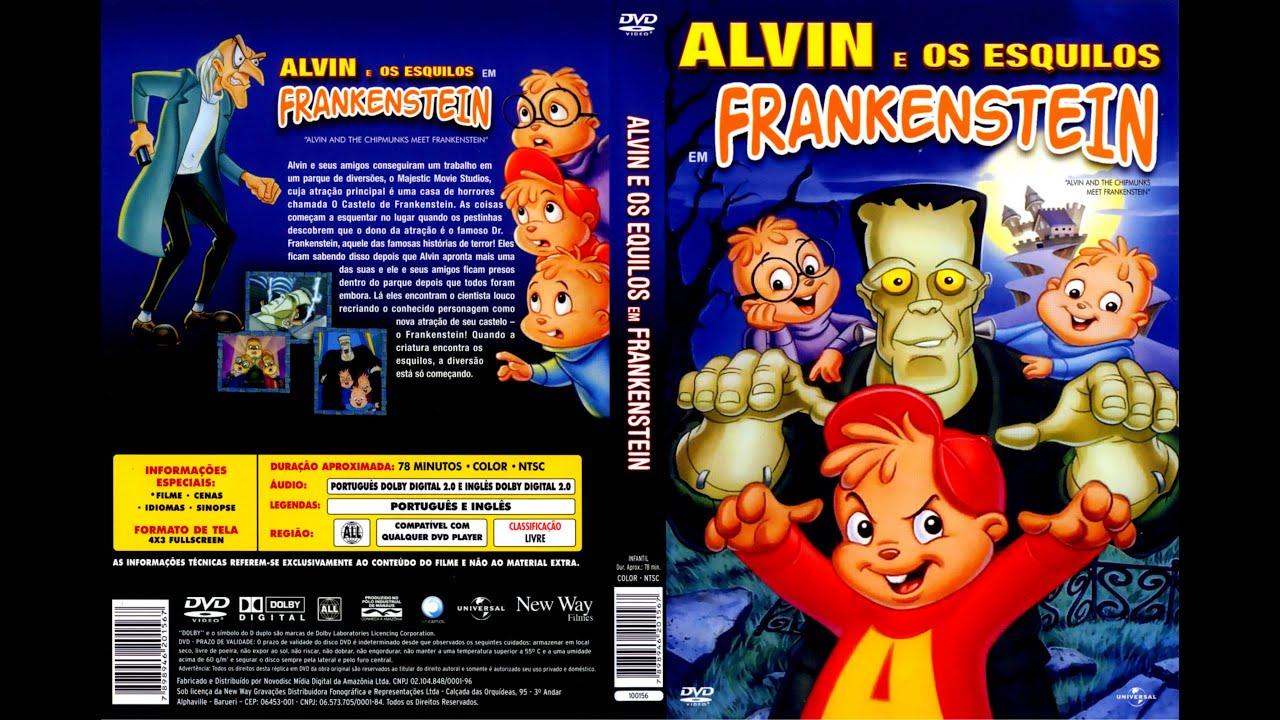 Alvin E Os Esquilos Encontram Frankenstein 1999 Tvrip Youtube