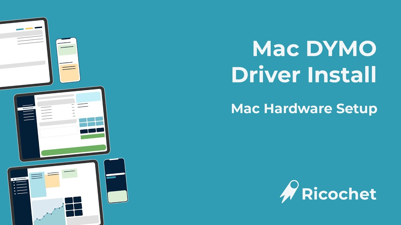 Mac Dymo Driver Install