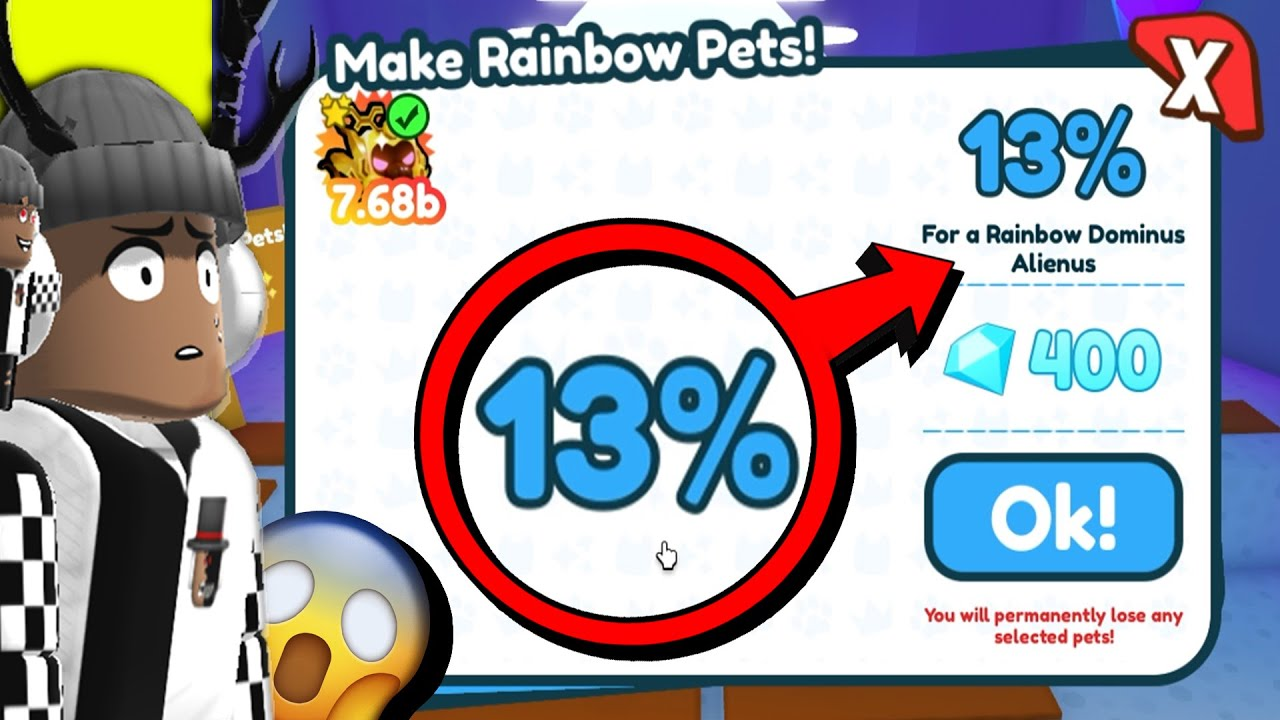 I TRIED THE IMPOSSIBLE and THIS HAPPENED in Pet Simulator X *Trading Plaza*