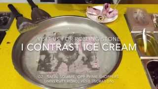 Rolling Ice Pan - Mix Fruit Delight - IContrast Ice Cream - Surat (GJ) India
